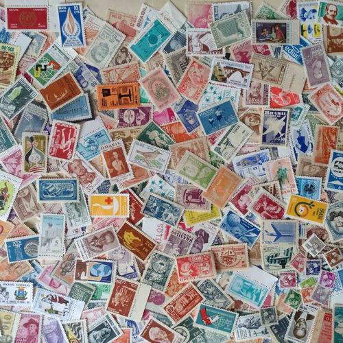 # 1000 selos comemorativos do brasil novos diferentes