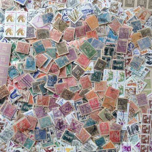+1000 selos do brasil u / n - lote 05