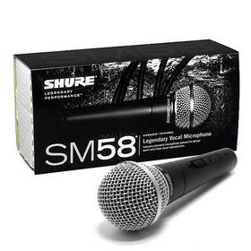 100%original - Microfone Shure Sm58-lc