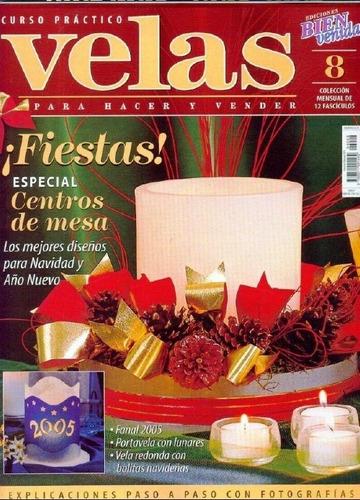 _ 11 revistas para hacer velas artesanales  (lote 1)