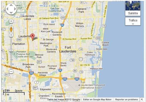 # 116 miami/ florida / pantation/ departamento 2 ambientes