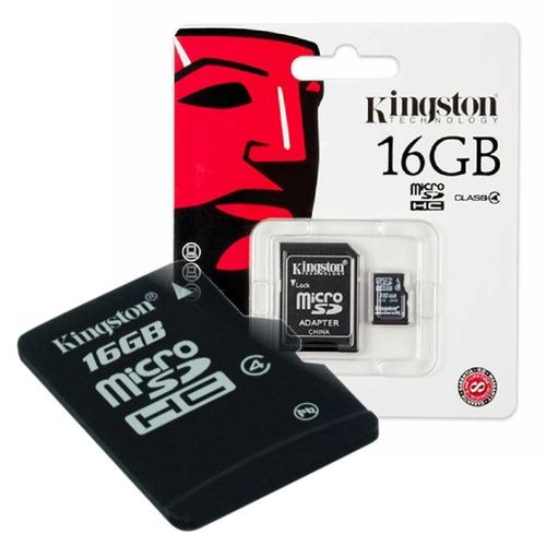¡ 16gb memoria microsd kingston micro sd y adapt sd 16gb !!