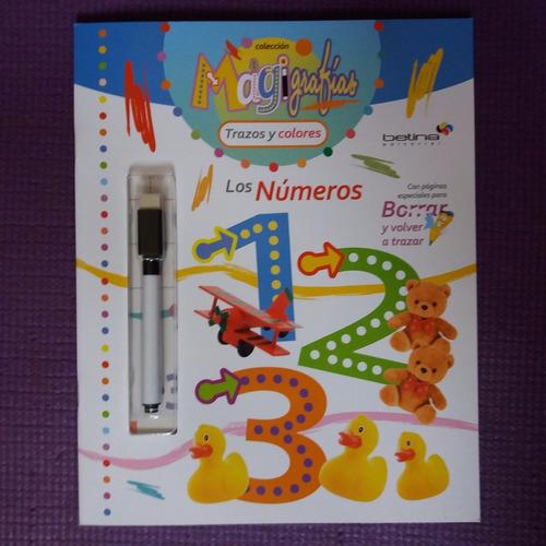 * 2 libros pizarra con marcador * numeros letras imprenta