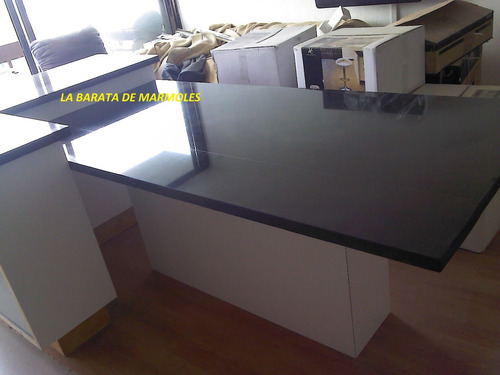$ 2480.00 granito negro san gabriel cubierta cocina