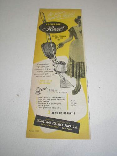 - 290/ pbmk470 tira propaganda antiga aspirador de pó real
