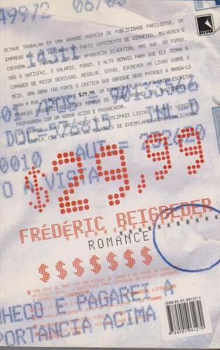 $ 29,99 - frédéric beigbeder / livro novo e sem uso
