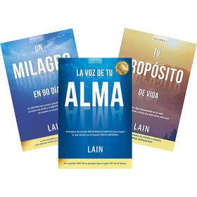 * 3 Libros Lain * Voz De Tu Alma + Un Milagro + Tu Proposito