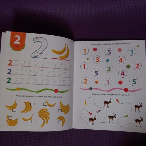 * 3 libros pizarra con marcador * numeros letras grafismos