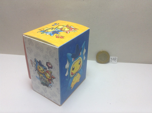 ** 348. porta deck pokemon tcg pikachu de hiroshima pokechay