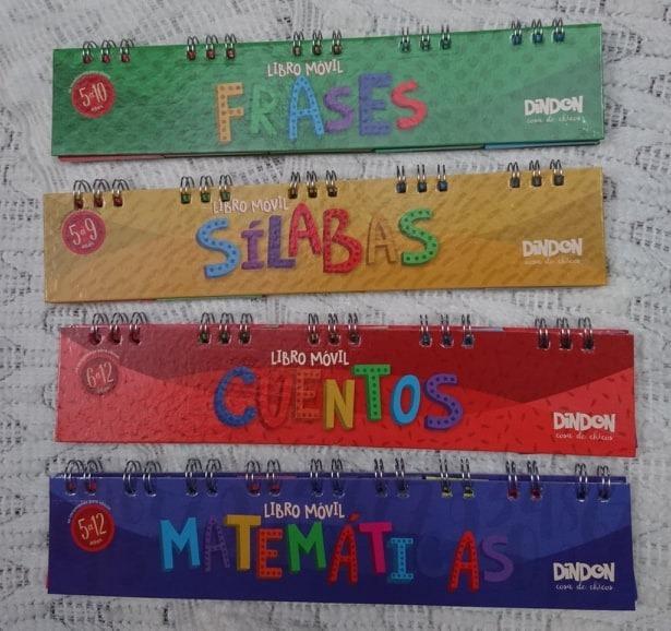 4 Libros Moviles Frases Silabas Cuentos Mate Cuotas