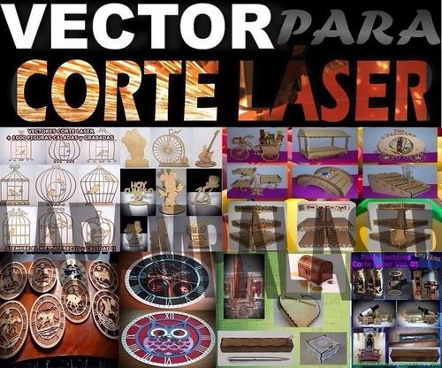 + 4000 diseños pack vectores corte laser-combo corel draw