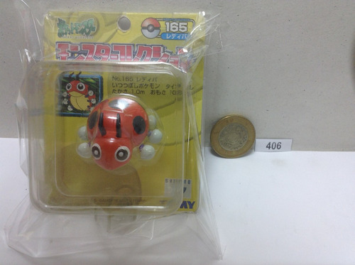*** 406. pokemon ledyba *** tomy original. pokechay