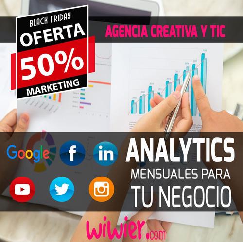 -50% marketing digital - community manager - facebook ads