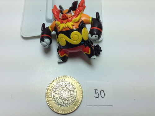 *** 50. pokemon emboar *** tomy original pokechay