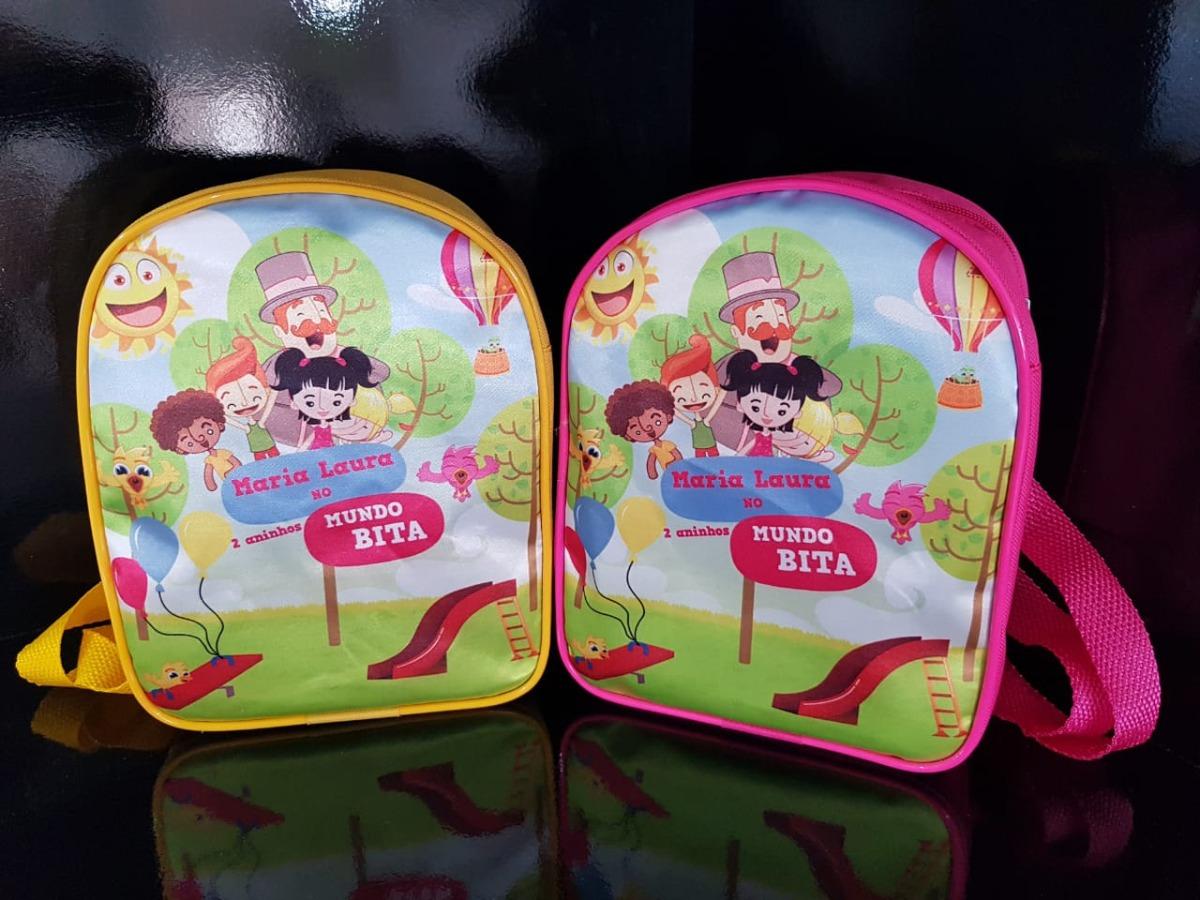 73a6e8c5c 60 bolsas personalizadas mochilas lembrancinha - temas. Carregando zoom.