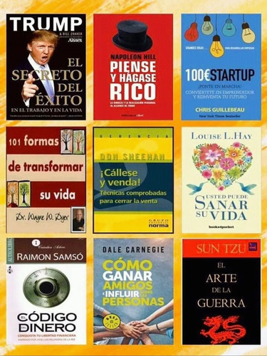 +600 libros y cursos digitales de negocios!