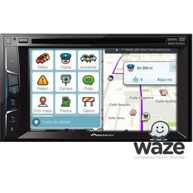 $ 6684 6 Cuotas!! Estéreo Pioneer Avh-z2050tv Waze Android
