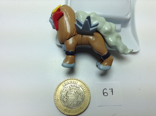 *** 67. pokemon entei *** tomy original pokechay
