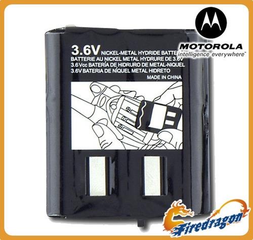 -70% batería motorola radios em1000 t5000 mj270 mc220 mr350r