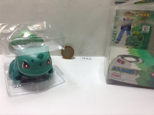 *** 932. pokemon bulbasaur *** tomy japones. pokechay
