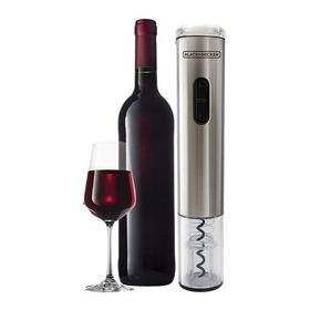 Abridor De Vinho Black Decker A Pilha Wine Inox Com Nota