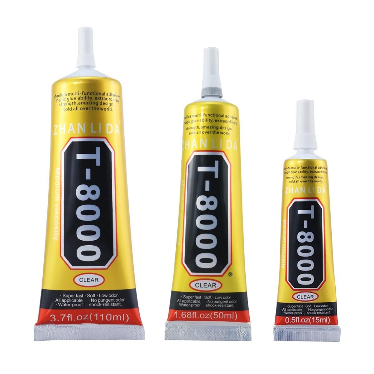4910905f60b Adhesivo Pegamento T8000 (110 Ml) Reparación Cel !! - $ 22.900 en ...