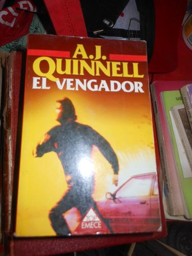 *  a.j. quinell - el vengador  - ed bolsillo