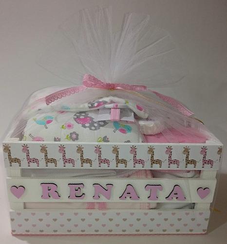 ** ajuar bebe 15 piezas set nacimiento caja personalizada **