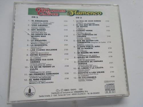 ++ album 2 cds del arte flamencol originales importados