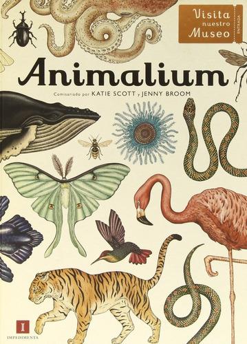 ** animalium ** katie scott y jenny broom oceano español