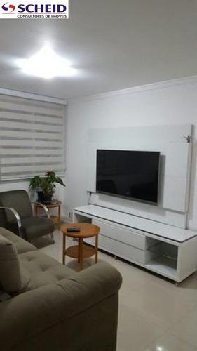 *** apartamento com finíssimo acabamento. 03 dorms sendo uma suíte, sala de estar e sala de jantar, - mc3260