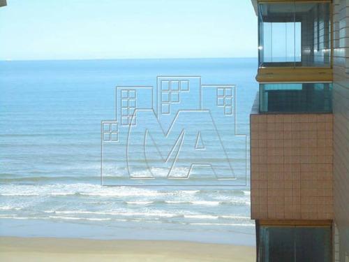 ¿ apartamento de frente ao mar, com uma linda vista, localizado na guilhermina.