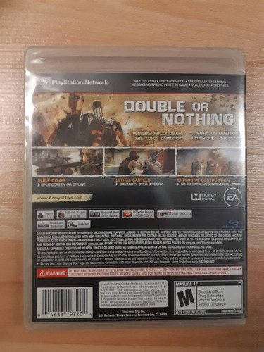 ..:: army of two the devil's cartel ::.. para ps3 game cente