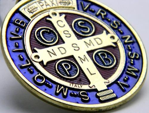 ¿ asaltos, pobreza, accidentes? medalla san benito -10%