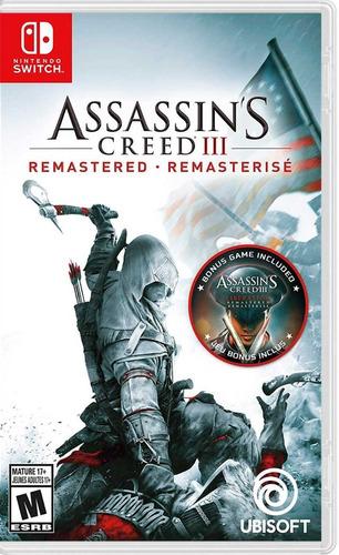 ..:: assassins creed iii remastered ::.. para switch en gcd