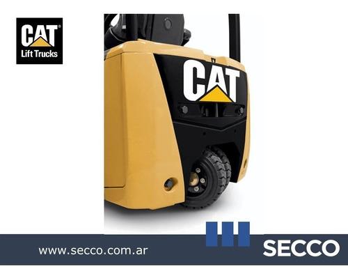 : autoelevador cat eléctrico triciclo origen est.unid  desde