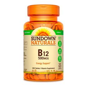 B-12- Sundown-200 Caps Apta Para Veganos - Nutrition Center