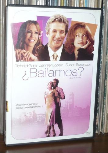 ¿ bailamos ? dvd richard gare jennifer lopez susan sarandon