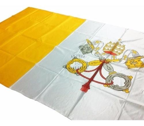 **** bandera papal vaticano ** medida 90x150cms ** fabrica *