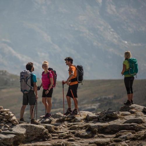 ® bastón trekking quechua arpenaz 200 negro