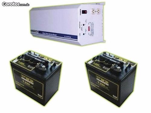 ( baterias de inversores ( o f e r t o n ) t.: 809-222-6606