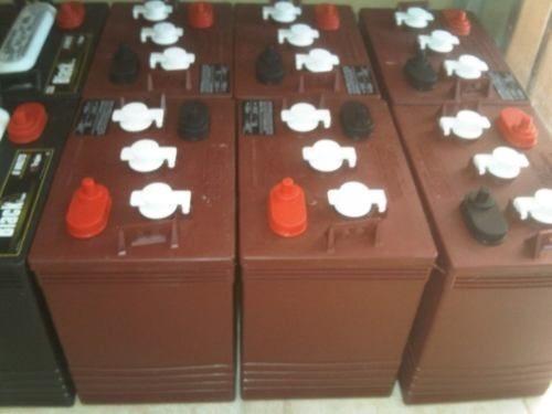 * baterias de/para inversores * trojan rojas t-105 * 100% or