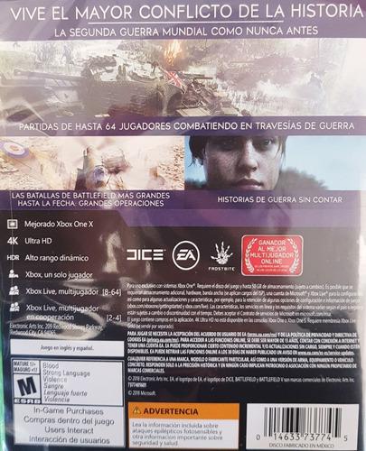 ..:: battlefield v 5 para xbox one ::.. en game center