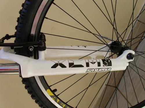 * bicicleta mtb canadian x-terra shimano acera v-brake 24v *