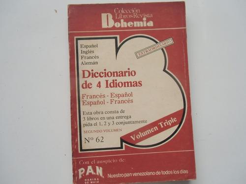 + bohemia. diccionario francés español, español francés