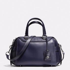 2366dd0b5 Bolsa Coach Snoopy - Bolsas Coach Azul oscuro, Usado en Mercado ...