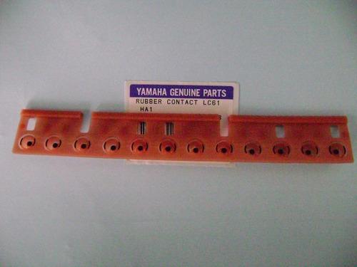 * borracha peças teclado yamaha psr-2100 original sem juros