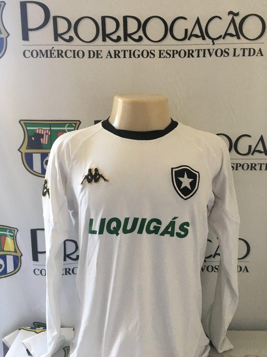 51b053989f2c0 Botafogo   4   Manga Longa   Usada Em Jogo     - R  300