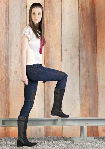. botas altas andrea textil detalle texturizado 2253541
