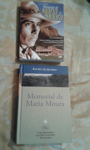 # box-memorial de maria moura-mini série- original+ livro